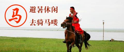 馬年(nian)壩上騎馬嘍(lou)
