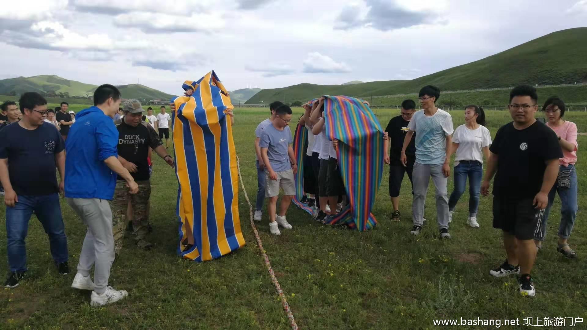 丰宁坝上草原团建拓展