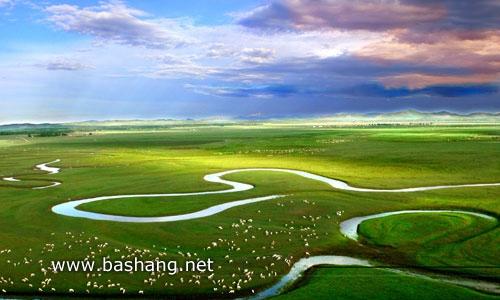 闪电湖 闪电河国家湿地公园