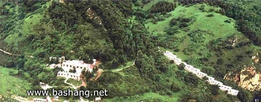 金莲山庄全景