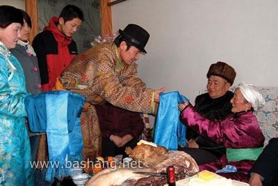 蒙古族礼节