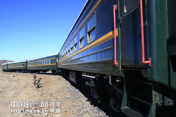 """建设中的以火车为主题的休闲""""专列"""""""