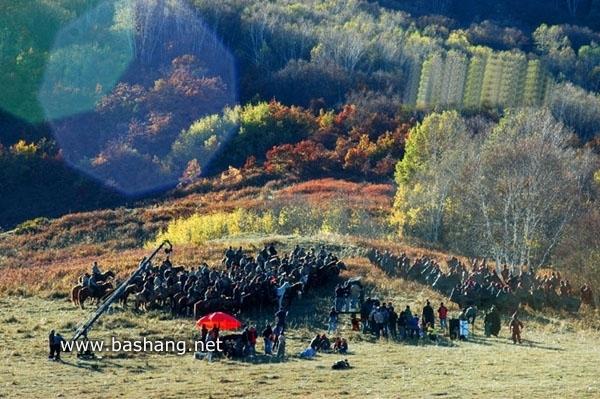 大型历史剧《大秦帝国》在河北坝上拍摄