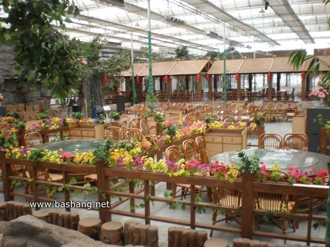 东杉假日坝上酒店 生态园餐厅