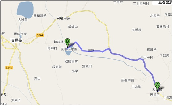 北京到丰宁坝上(大滩镇)路书